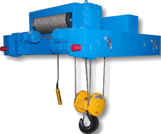 Double Girder Electric Wire Rope Hoists SHA Type Electric Chain Hoist / Cable Hoist