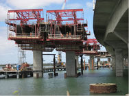 ভাল মানের Single Girder Overhead Cranes & Rhombus Bridge Builder Custom Form Traveller System Rhombus Form Traveler বিক্রিতে