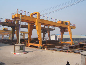 চীন MG120t - 32m - 22m Double Beam Gantry Crane For Steel Factory / Port / Shipbuilding পরিবেশক